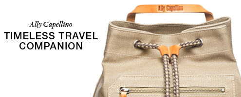 Ally Capellino, Travel, Bag, Bags, Leather, Waxed Cotton