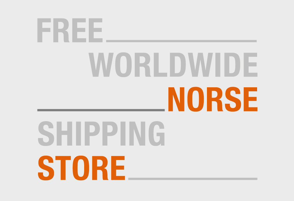 FREE WORLDWIDE SHIPPING NORSE STORE