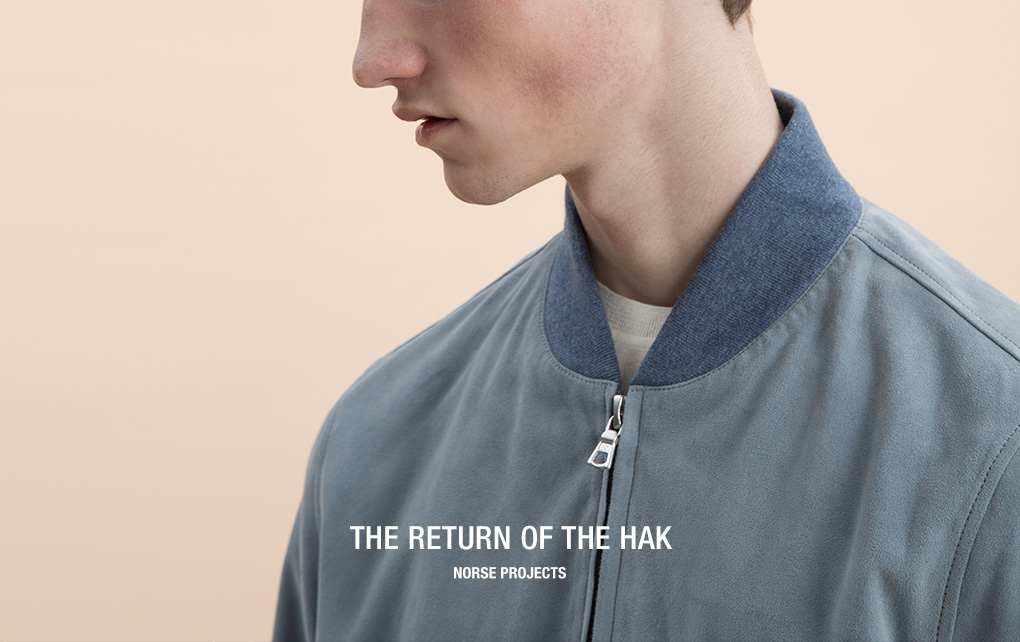 Norse Projects Hak Suede Jacket