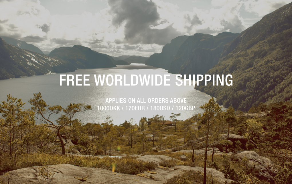 NORSE STORE FREE WORLDWIDE SHIPPING