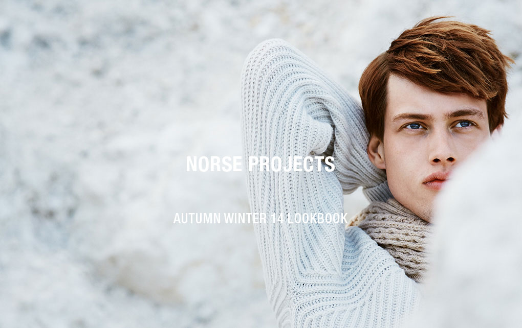 norse projects lookbook
