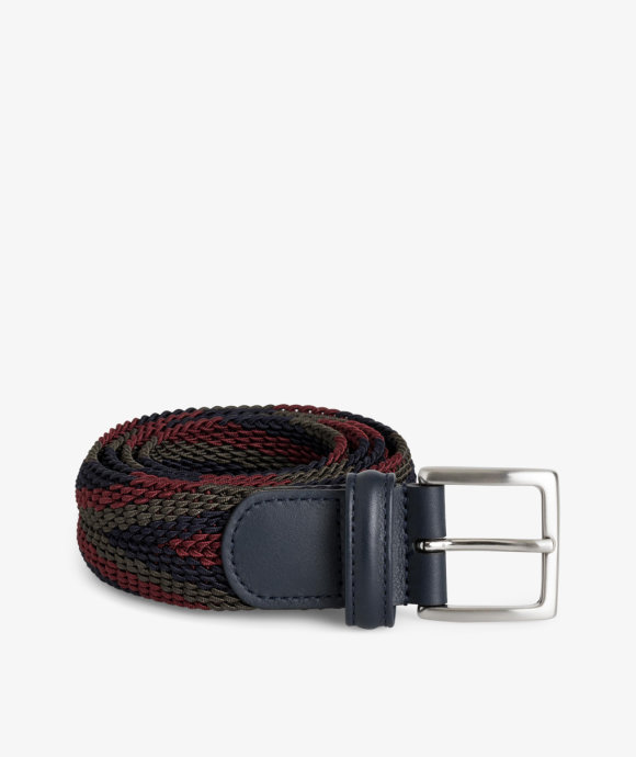 Anderson's - Braided Belt Nylon/Leather