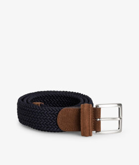 Braided Belt Nylon/Leather