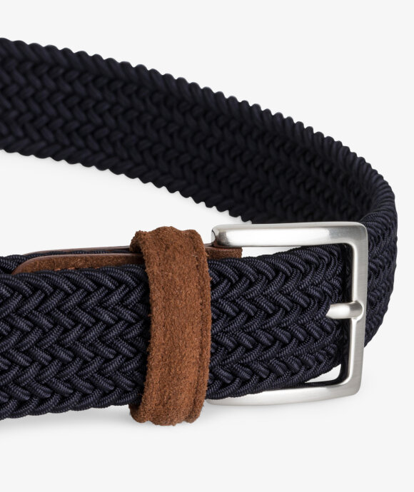 Anderson's - Braided Belt Nylon/Suede