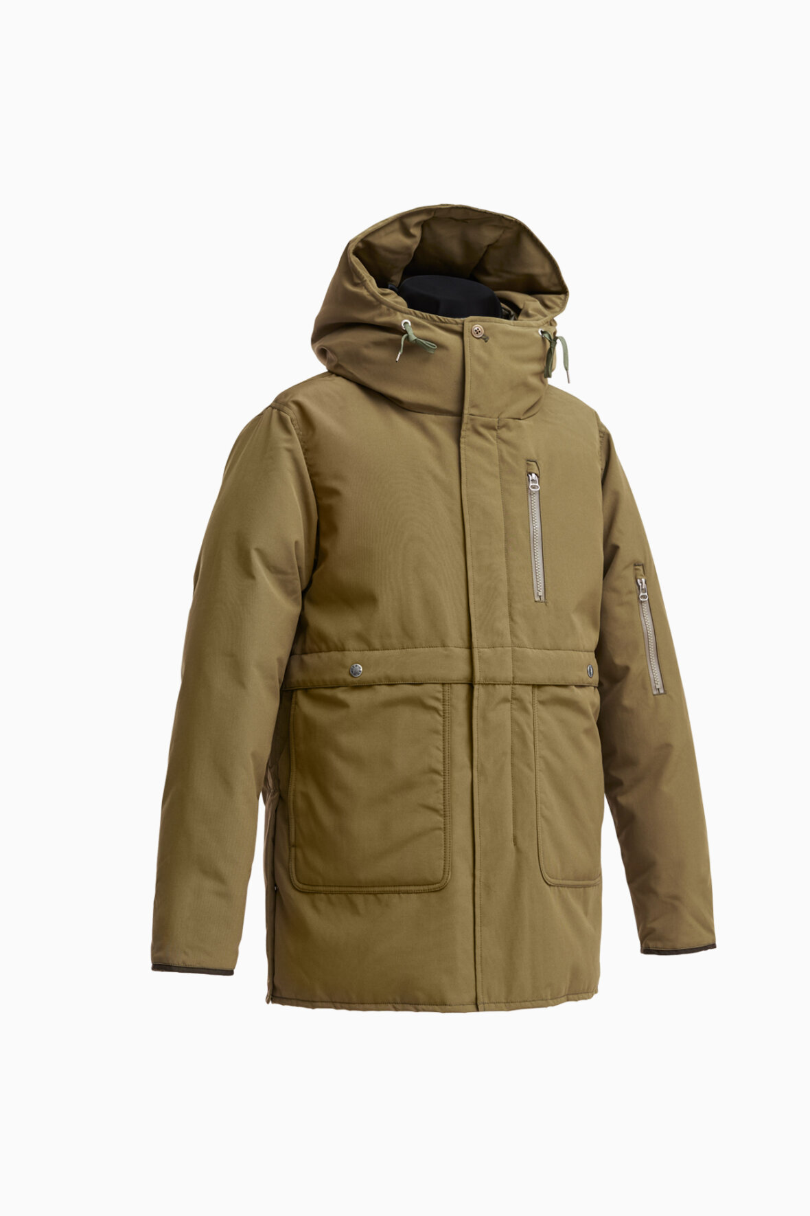 285a9aae8f2 Cut with a relaxed fit the Cruiser Jacket features four button flapped  pockets with press-stud closures, zip closures coupled with branded buttons  and an ...