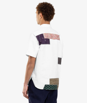 Junya Watanabe MAN - Patchwork Short Sleeve Shirt