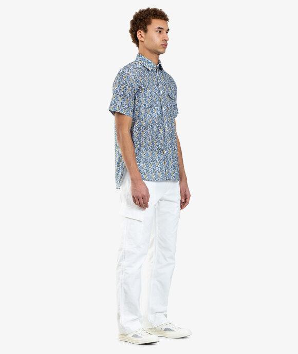 Junya Watanabe MAN - Floral Short Sleeve Shirt