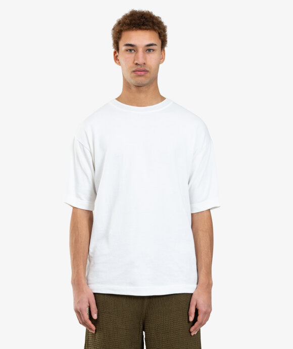 TS(S) - Solid Crew Neck Knit Tee