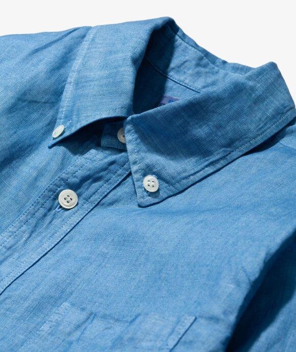 Blue Blue Japan - Gradation BD LS Shirt