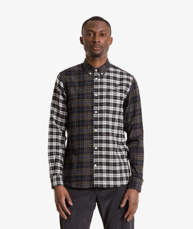 Norse Projects - Osvald Brushed Flannel Mix