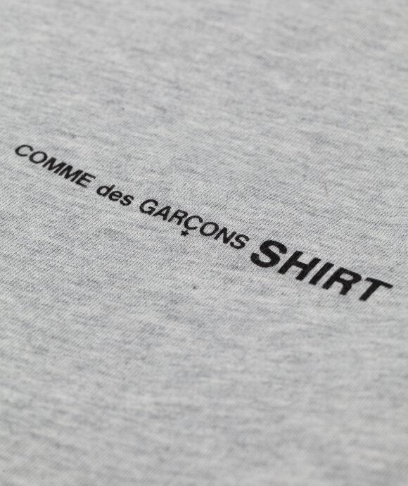 COMME des GARÇONS SHIRT - Chest Logo T-Shirt