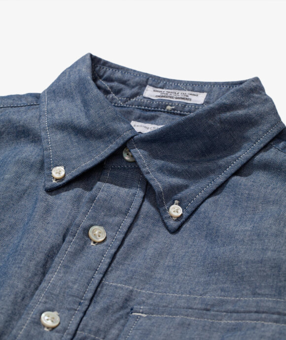 Engineered Garments - Popover BD Chambray Shirt