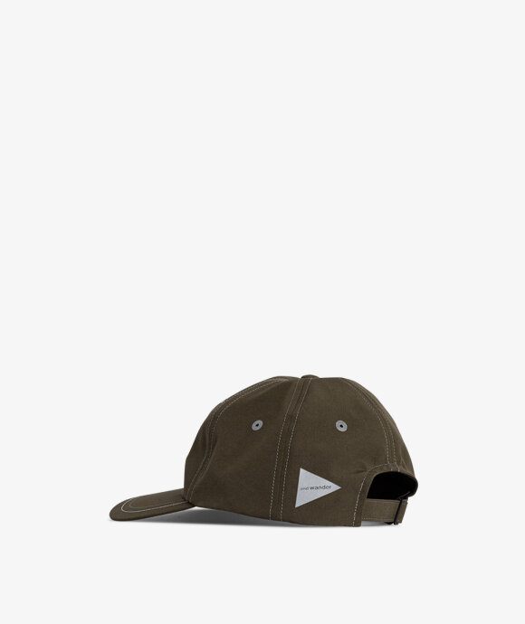 And Wander - Poly Field Cap
