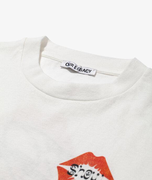 Our Legacy - Box T-Shirt Kiss Print