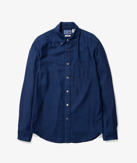 Blue Blue Japan - Yabane Dobby BD shirt