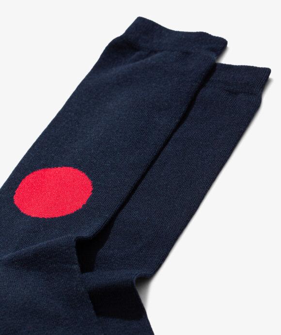 Blue Blue Japan - Japan Flag Socks