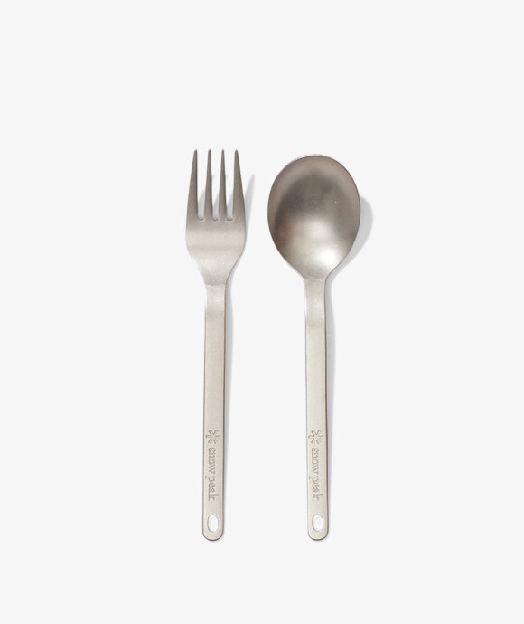 Snow Peak - Titanium Fork & Spoon Set