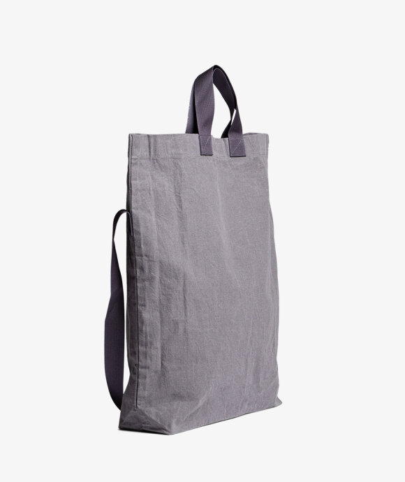 MAN-TLE - R11B1 Stone Wax Tote Bag