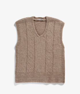 Our Legacy - Reversed Cable Vest