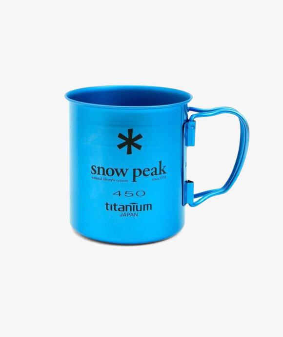 Snow Peak - Titanium Single Cup 450