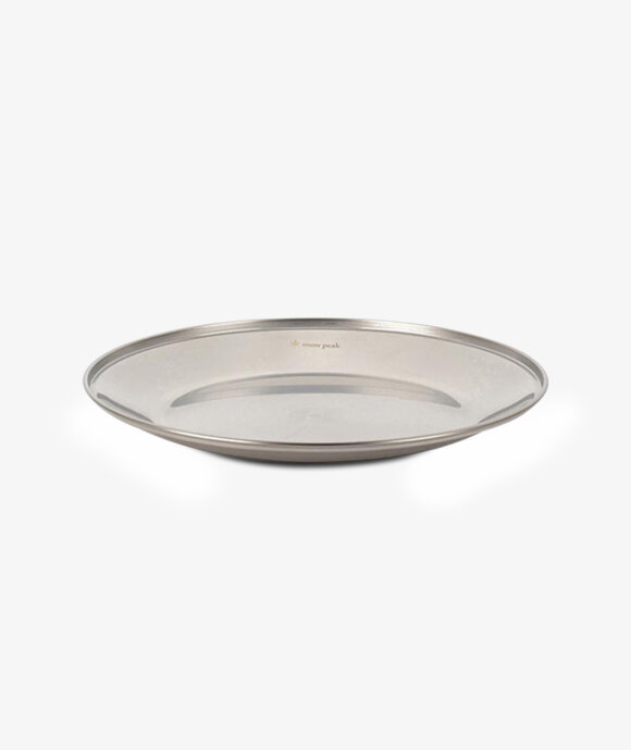 Snow Peak - Tableware Plate L
