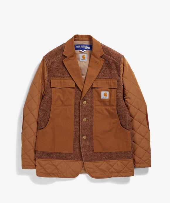 Junya Watanabe MAN - Tweed Thermo Blazer Jacket