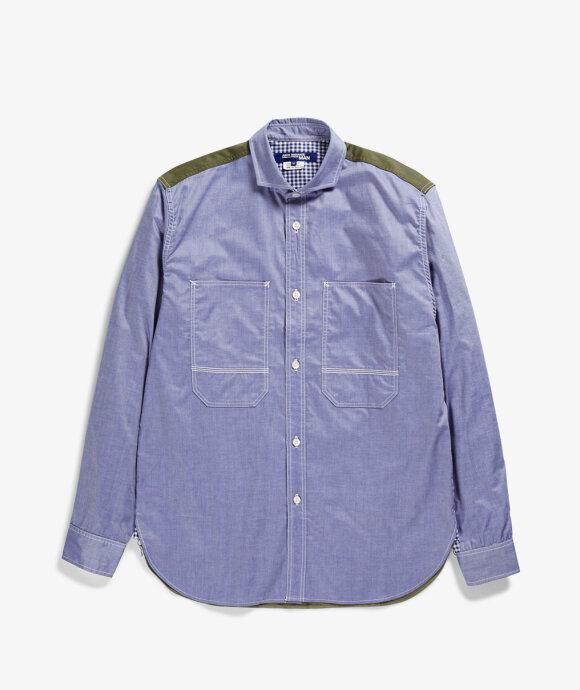 Junya Watanabe MAN - Patchwork Army Shirt