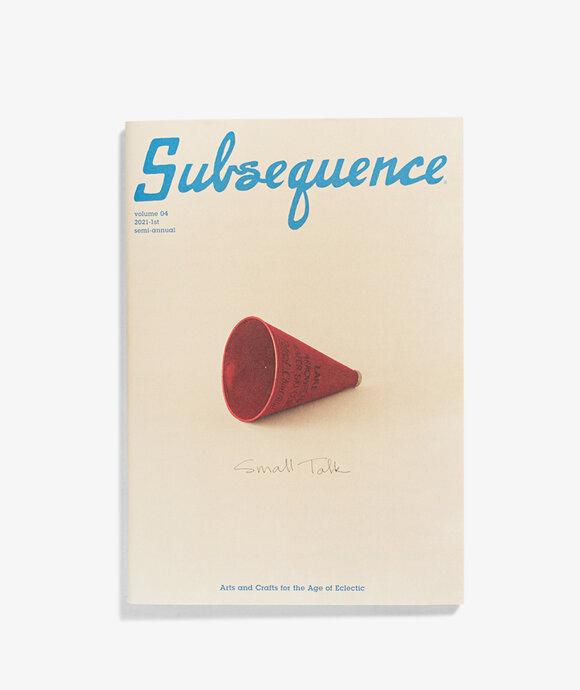 Visvim - Subsequence Magazine Vol 4